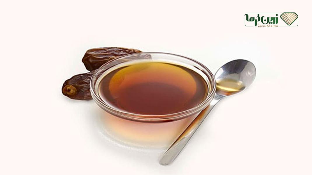 سرکه خرمای بدست آمده از تخمیر اسیدی الکل خرما
