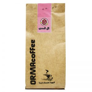 قهوه هسته خرما با طعم گل محمدی اُرما