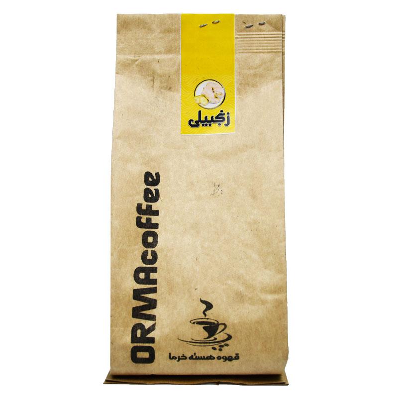 قهوه هسته خرما با عطر و طعم زنجبیل